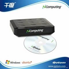 Ncomputing終端機L130 網線連接  支持24位色