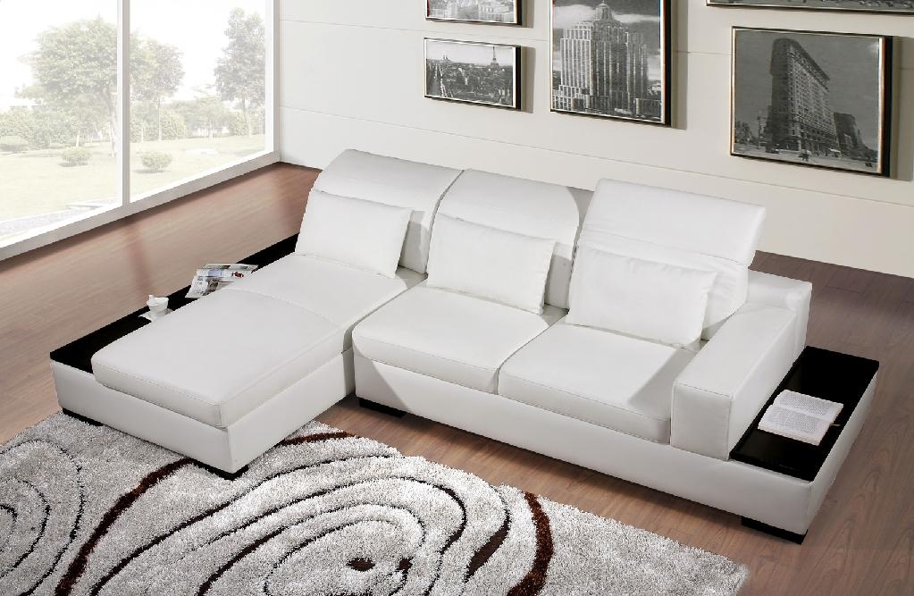 classic modern corner leather sofa