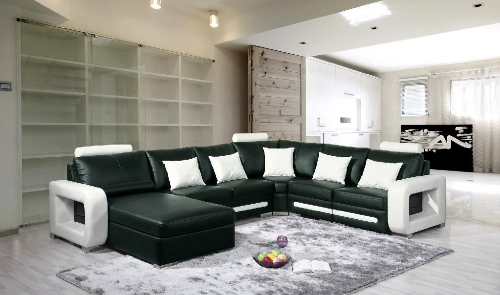 Luxury Modern Corner Leather Sofa Afos L 30 Ngised China Picture To Pin On Pinterest Thepinsta