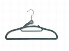 Suit hanger with tie bar(floral patterned top)