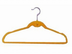 Suit hanger with intent and cascading hook