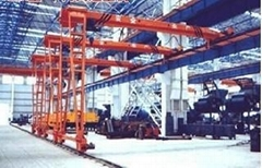 Electric hoists electric semi gantry crane