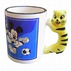 11 oz Animal Mug-Cat