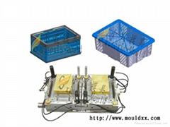 周转箱塑料模具制造