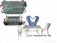 椅子注塑模具