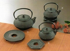 Iron-teapot-set(type5)