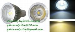 COB 5W LED spotlight GU10 lamp new 2013
