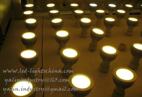 COB 5W LED spotlight GU10 lamp new 2013 2