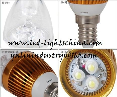 E14 LED candle lamp for chandelier 2