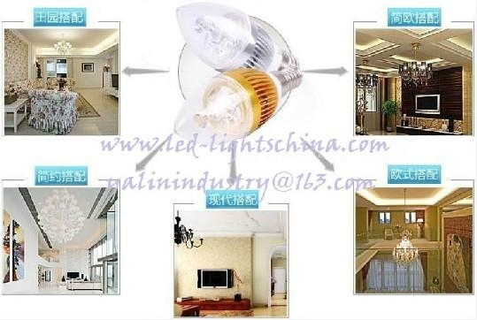 E14 LED candle lamp for chandelier 3