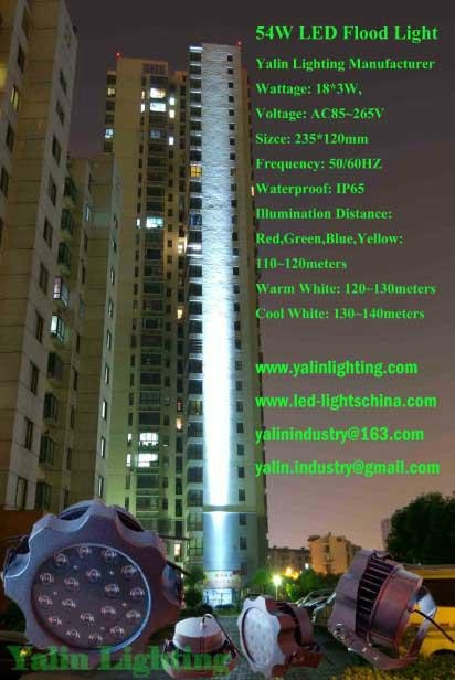 long distance LED floodlight for high building 1