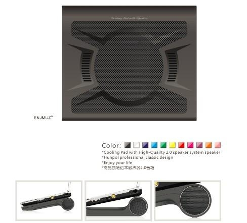 laptop cooling pad with speaker 1