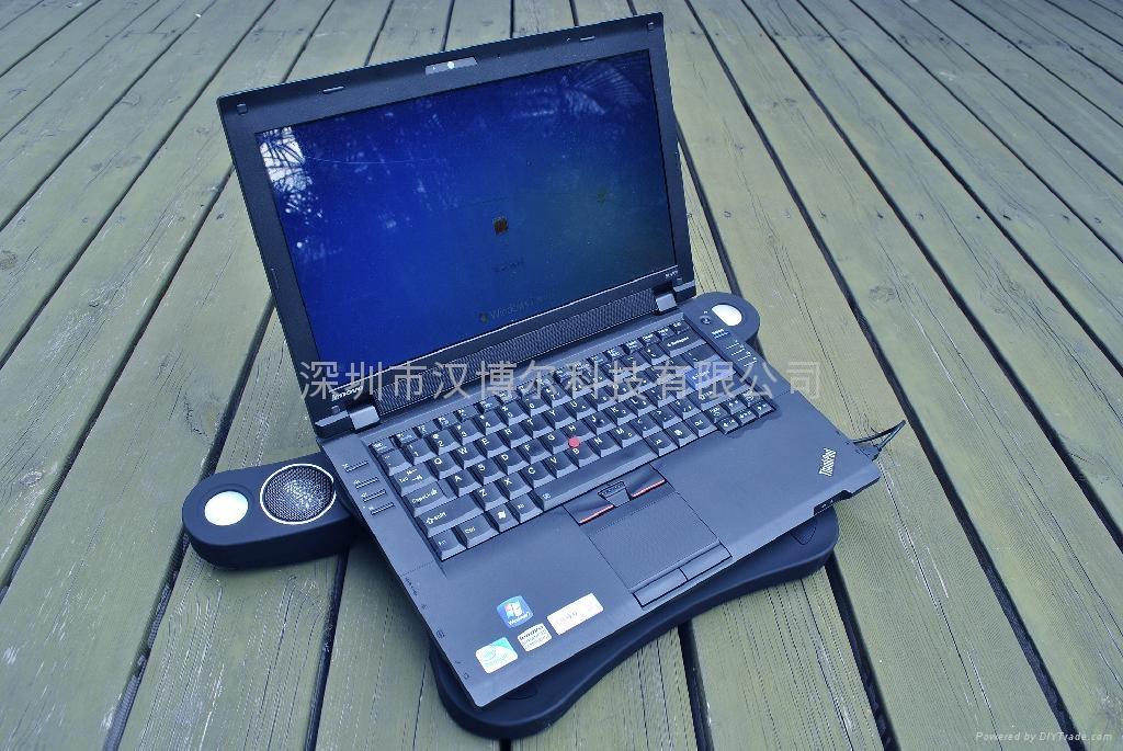 laptop pad with speaker 4