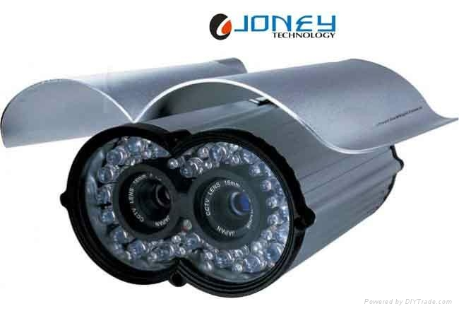 Dual Lens Waterproof Outdoor Bullet Camera of 80m IR distance