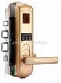Security Elegant Biometric Fingerprint Door Lock