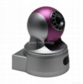 2 megapixels mini pan tilt ip camera(support Wifi)