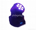 New 7*10W RGBA LED Mini Moving Head Wash