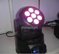 4 in 1 RGBA LED Moving head 7*10W