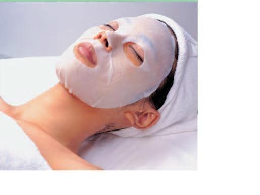 Pure cotton facial mask 1