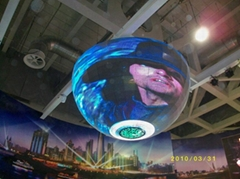 P8 indoor full color ball screen