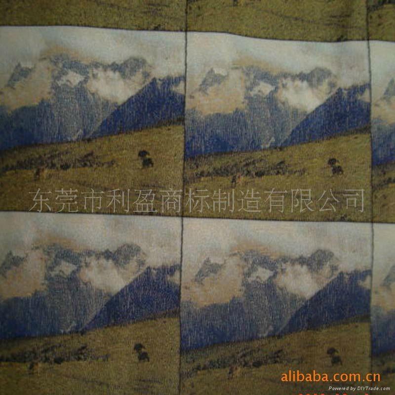 photo woven label(3D) 2