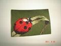 photo woven label(3D) 5