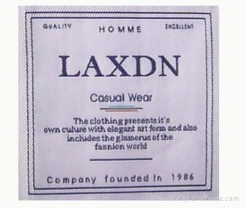 woven label 3