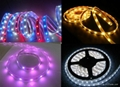 Naked SMD3528 60LEDS/M led strip light 5m,High lumen