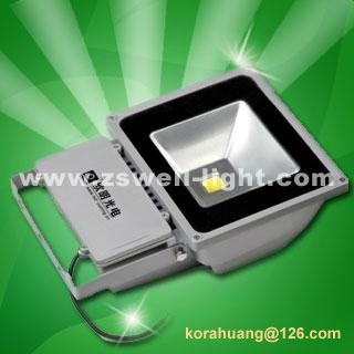 80W led flood light,IP65 flood led,Top Quality,80-90LM/W