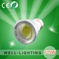 5W cob led spot light,DC12AC220V Pure Alumium,warmwhite/white,led bulb light 500