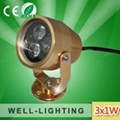 3W Outdoor LED Project lighting,landscape lightck,led flooding light 3W