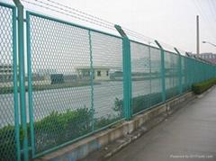 钢板网护栏