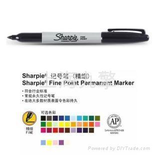 三福无尘记号笔sharpie30001  1