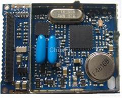 CMOS 2.4GHz FM/FSK Receiver Module