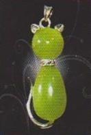 Green emerald pendant