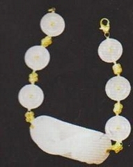 White jade bracelets