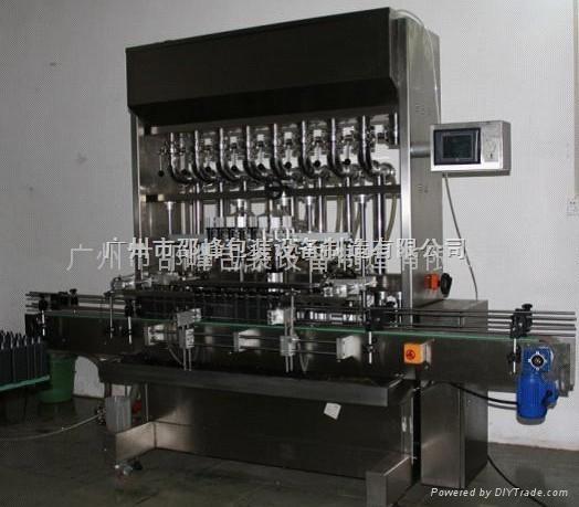 全自動直線負壓酒類灌裝機 1
