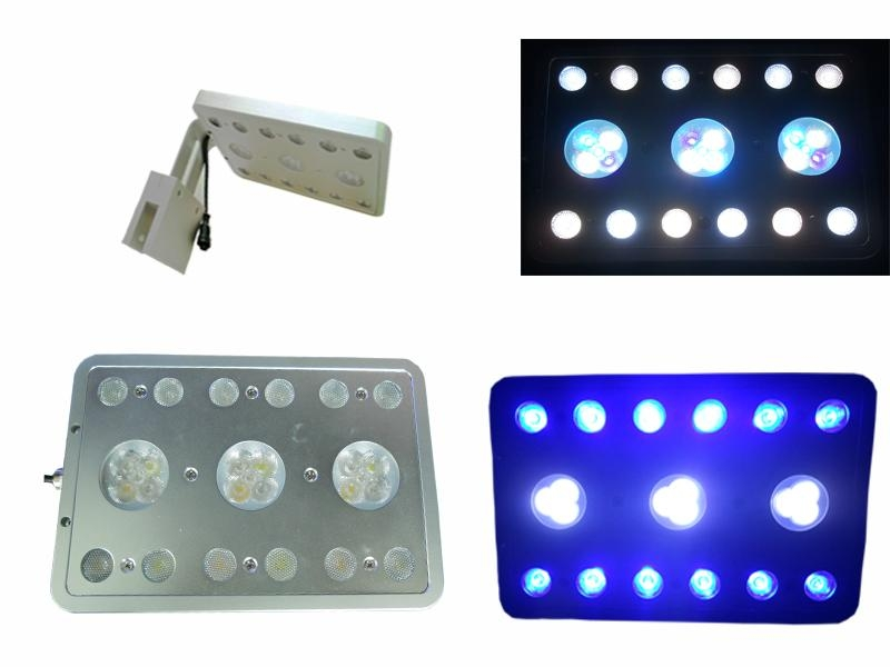 21w 27w led aquarium lights for coral reef fish tank with 1w leds 1
