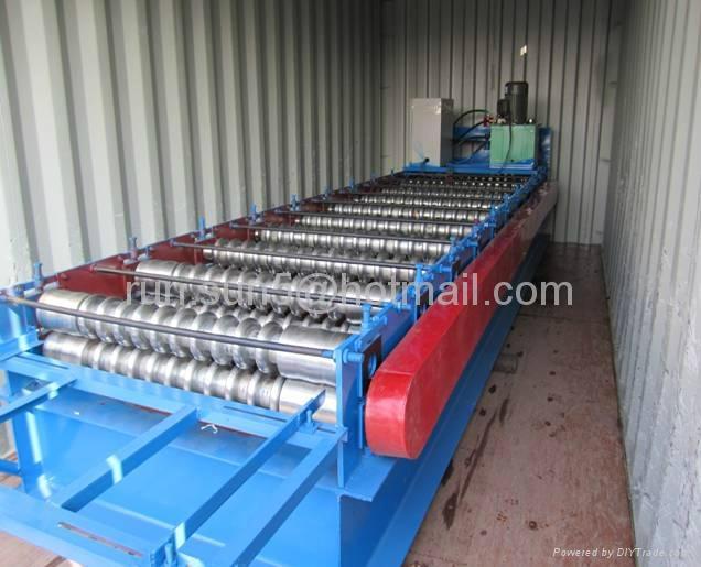 corrugated iron sheet roll forming machine