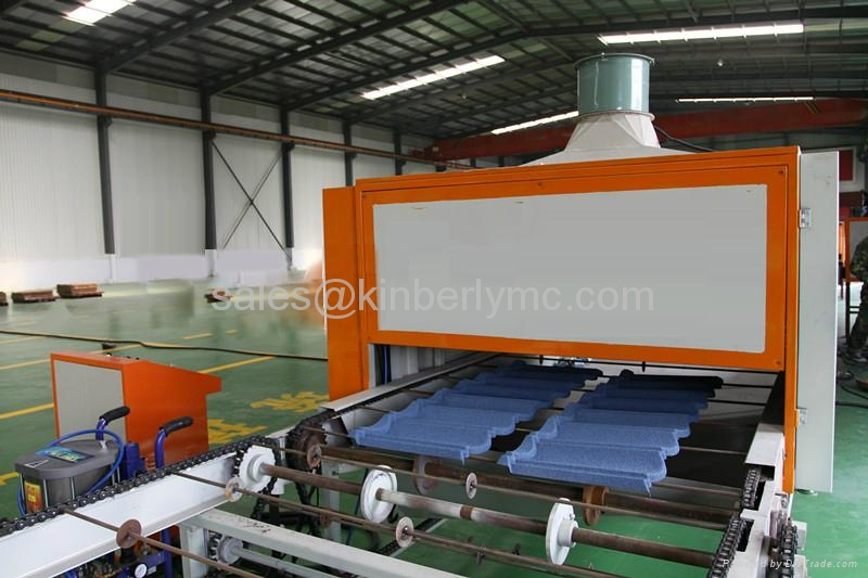 stone metal roof machine roll forming machine
