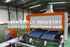stone coated Metal roof machine roll forming machine