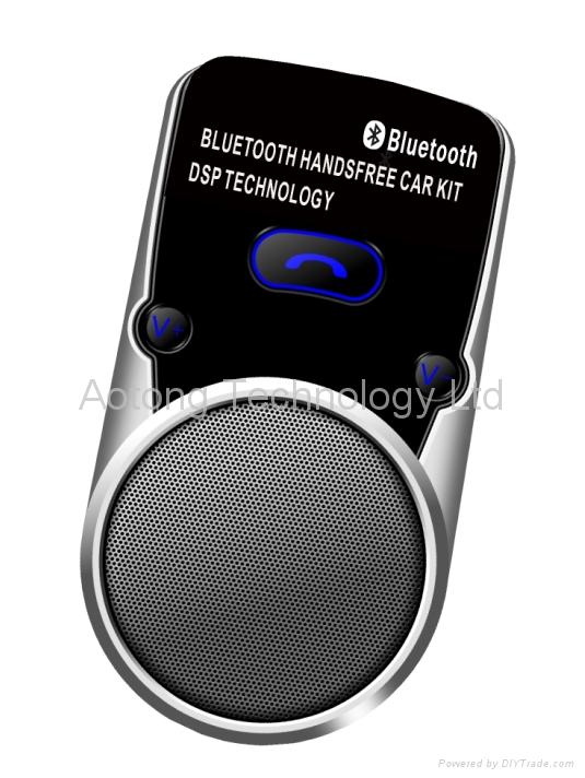 Solar Bluetooth Hand-Free MP3 car player 1