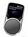Solar Bluetooth Hand-Free MP3 car player