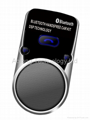 Solar Bluetooth Hand-Free MP3 car player