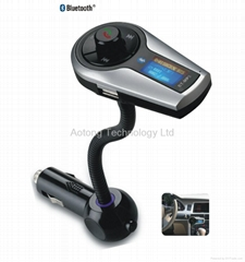 Bluetooth HF /Support TF and USB flash for GL car mp3 player with fm transmitter