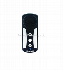 Multipoint speakerphone visor hands-free bluetooth