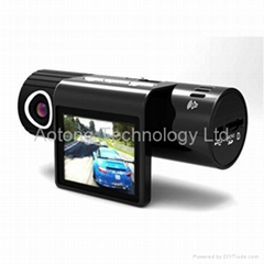 Q7 HD Car DVR with 720P 5MP CMOS Sensor + 140 Degree Lens + 2.0 inch Screen