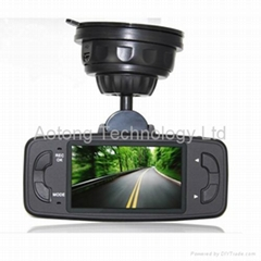 500W Pixel HD CMOS  160 degree Car black