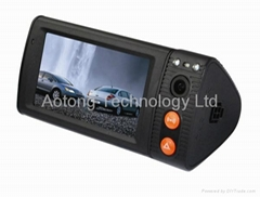 widescreen touch screen GPS G-sensor Car blackbox