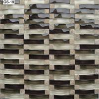 拱形水晶玻璃马赛克瓷砖背景墙